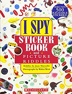 I Spy Sticker Book and Picture Riddles 9780545390743