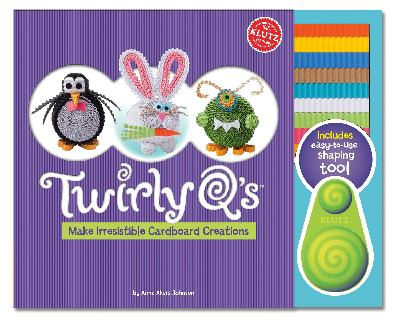 Twirly Q's: Make Cute Creatures from Cardboard Coils 9780545396240