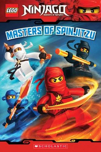 Lego Ninjago Reader #2: Masters of Spinjitzu 9780545401142