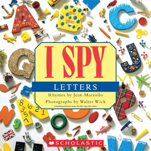 I Spy Letters 9780545415842
