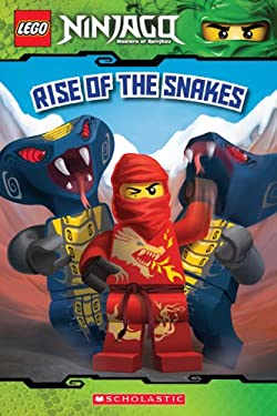 LEGO Ninjago: Rise of the Snakes (Reader #4) 9780545435925