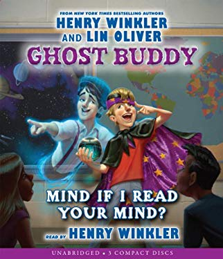 Ghost Buddy #2: Mind If I Read Your Mind? - Audio 9780545466035