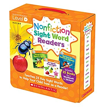 Nonfiction Sight Word Readers Parent Pack Level D: Teaches 25 key Sight Words to Help Your Child Soar as a Reader! (Nonfiction Sight Word Readers Pare