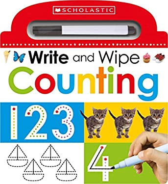 Write and Wipe Counting (Scholastic Early Learners)