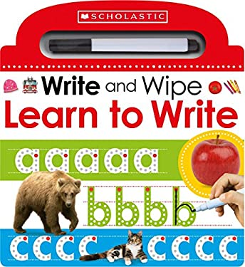 Wipe Clean Workbooks 1 (Scholastic Early Learners)