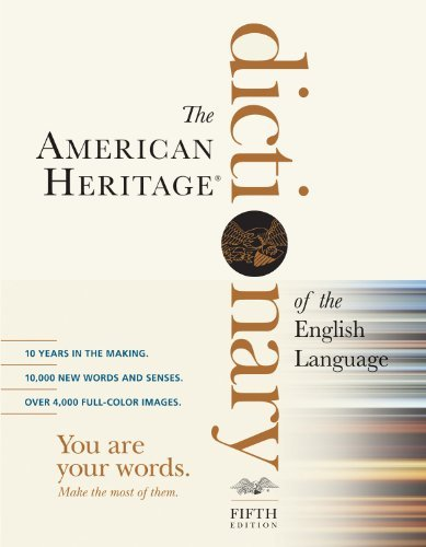 The American Heritage Dictionary of the English Language 9780547041018