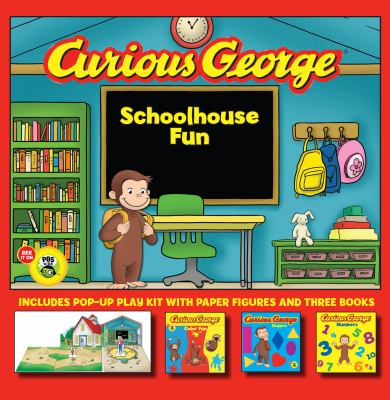 Curious George Schoolhouse Fun [With Pop-Up Schoolhouse, 6 Pop-Out Characters] 9780547643038