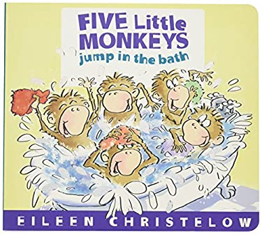 Five Little Monkeys Jump in the Bath 9780547875279