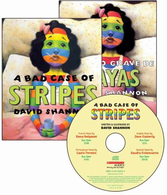 A Bad Case of Stripes [With 2 Paperbacks] 9780545254175