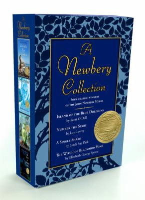 A Newbery Collection Boxed Set: Number the Stars/A Single Shard/Island of the Blue Dolphins/The Witch of Blackbird Pond 9780547610825