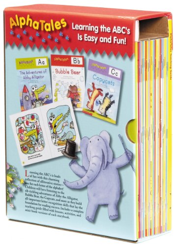 Alphatales Box Set: A Set of 26 Irresistible Animal Storybooks That Build Phonemic Awareness & Teach Each Letter of the Alphabet [With Teacher's Guide 9780545067645