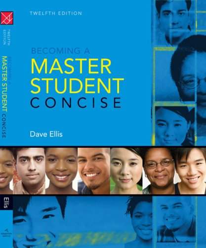 Becoming a Master Student Concise 9780547126593