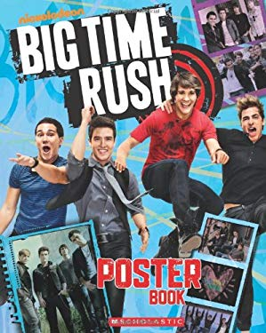 Big Time Rush Poster Book 9780545358460
