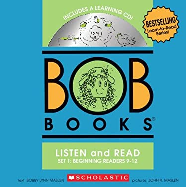 Bob Books Set 1 Bind-Up: Books #9-12 + CD [With CD (Audio)] 9780545019200
