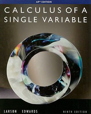 Calculus of a Single Variable: AP Edition 9780547212906