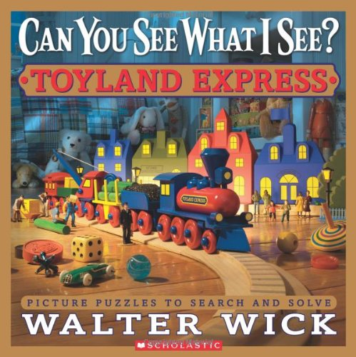 Toyland Express : Picture Puzzles to Search and Solve