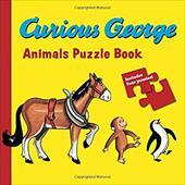 Curious George Animals Puzzle Book 10247308