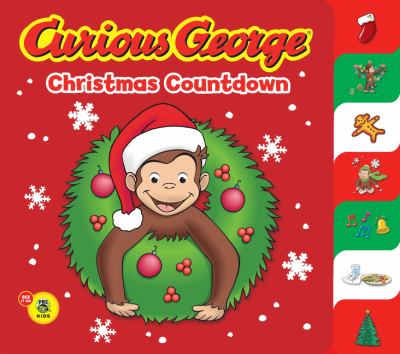 Curious George Christmas Countdown 9780547238630