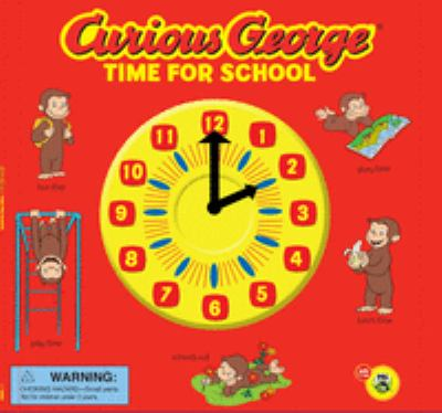 Curious George: Time for School 9780547422305