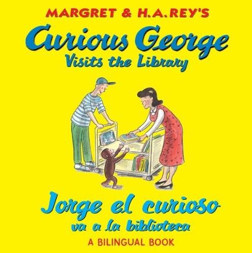 Curious George Visits The Library/Jorge el Curioso Va a la Biblioteca 9780547550756