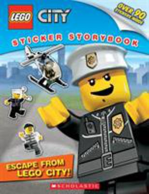 Lego City: Escape from Lego City!: Sticker Storybook 9780545280952