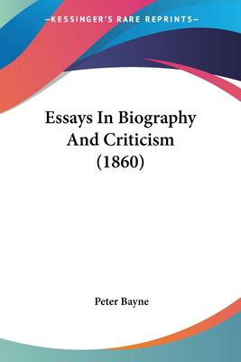 essays on biography
