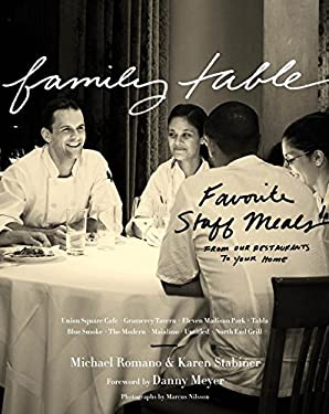 Family Table: Favorite Staff Meals from Our Restaurants to Your Home 9780547615622