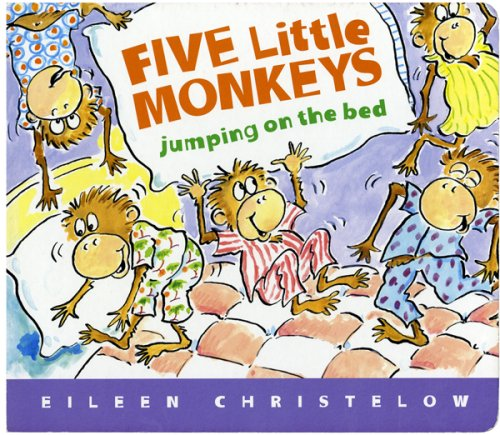 Five Little Monkeys Jumping on the Bed by Eileen ...