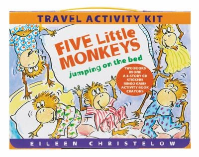 Five Little Monkeys Travel Activity Kit [With No Accessory and Sticker(s) and Crayons and Bingo Game and CD (Audio) and 2 Paperbacks and Ac 9780547258799