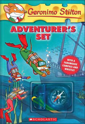 Geronimo Stilton Adventurer's Set: Lost Treasure of the Emerald Eye/Four Mice Deep in the Jungle/The Temple of the Ruby of Fire/The Search for Sunken 9780545084949