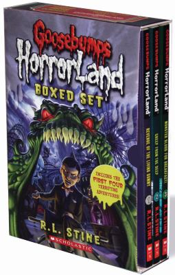 Goosebumps Horrorland Boxed Set 9780545132688