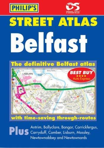 Philip's Street Atlas Belfast 9780540089307
