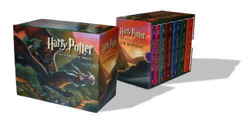 Harry Potter Paperback Boxed Set: Books #1-7 9780545162074