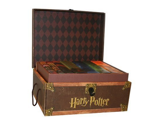 Harry Potter Hardcover Boxed Set: Books #1-7 [With Stickers] 9780545044257