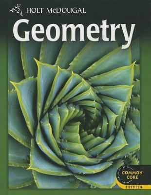 Holt Mcdougal Geometry Common Core Edition By Burger