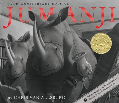 Jumanji 30th Anniversary Edition 9780547608389
