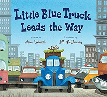 Little Blue Truck Leads the Way 9780547575742