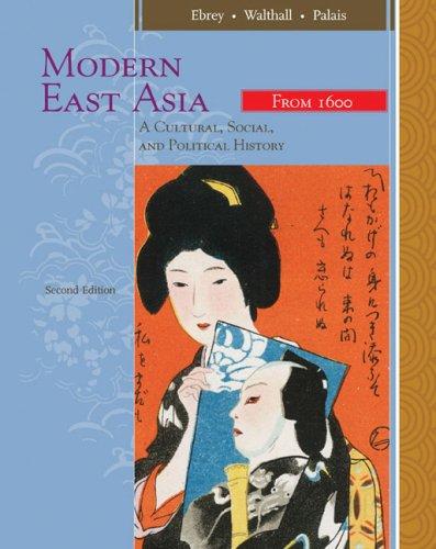 Modern East Asia by Clark, Conrad Schirokauer and Andrew H. Clark (2007, Paperba