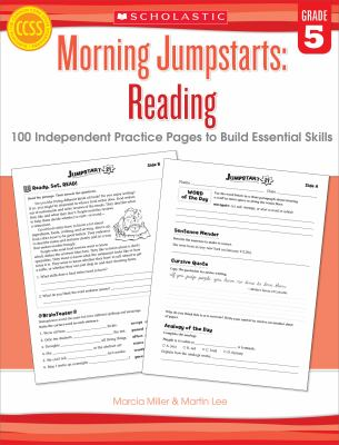 Morning Jumpstarts: Reading (Grade 5): 100 Independent Practice Pages to Build Essential Skills 9780545464246