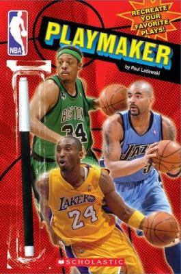 NBA Playmaker [With Marker] 9780545006668