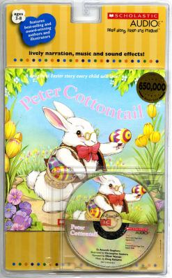 Peter Cottontail [With Peter Cottontail Book] 9780545052481