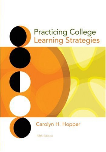 Practicing College Learning Strategies 9780547199962