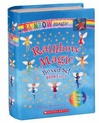 Rainbow Magic 7 Volume Boxed Set: Books #1-7 [With Charm] 9780545022866