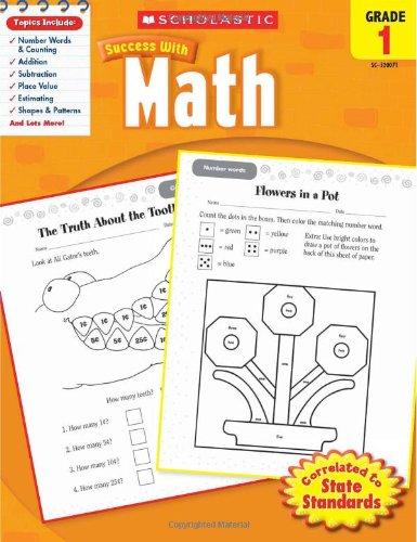 Math, Grade 1 9780545200714