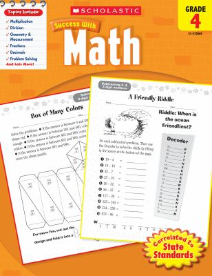 Math, Grade 4 9780545200684