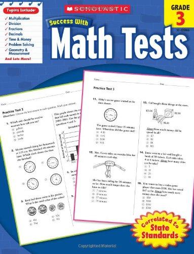 Math Tests, Grade 3