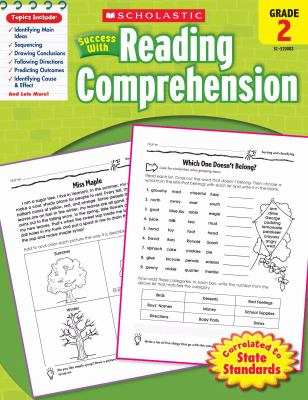 Scholastic Success with Reading Comprehension, Grade 2 9780545200837