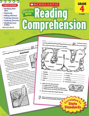 Scholastic Success with Reading Comprehension, Grade 4 9780545200813