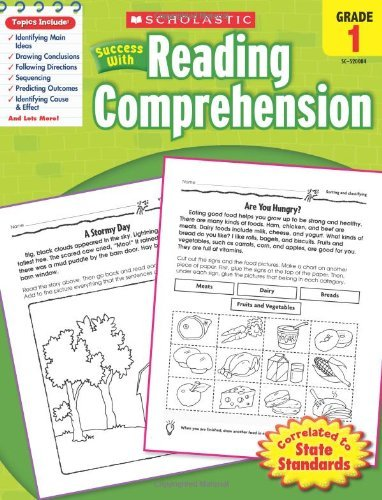 Scholastic Success with Reading Comprehension, Grades 1 9780545200844