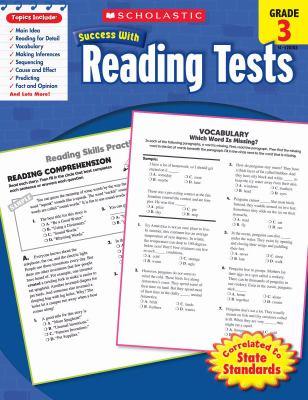 Reading Tests, Grade 3